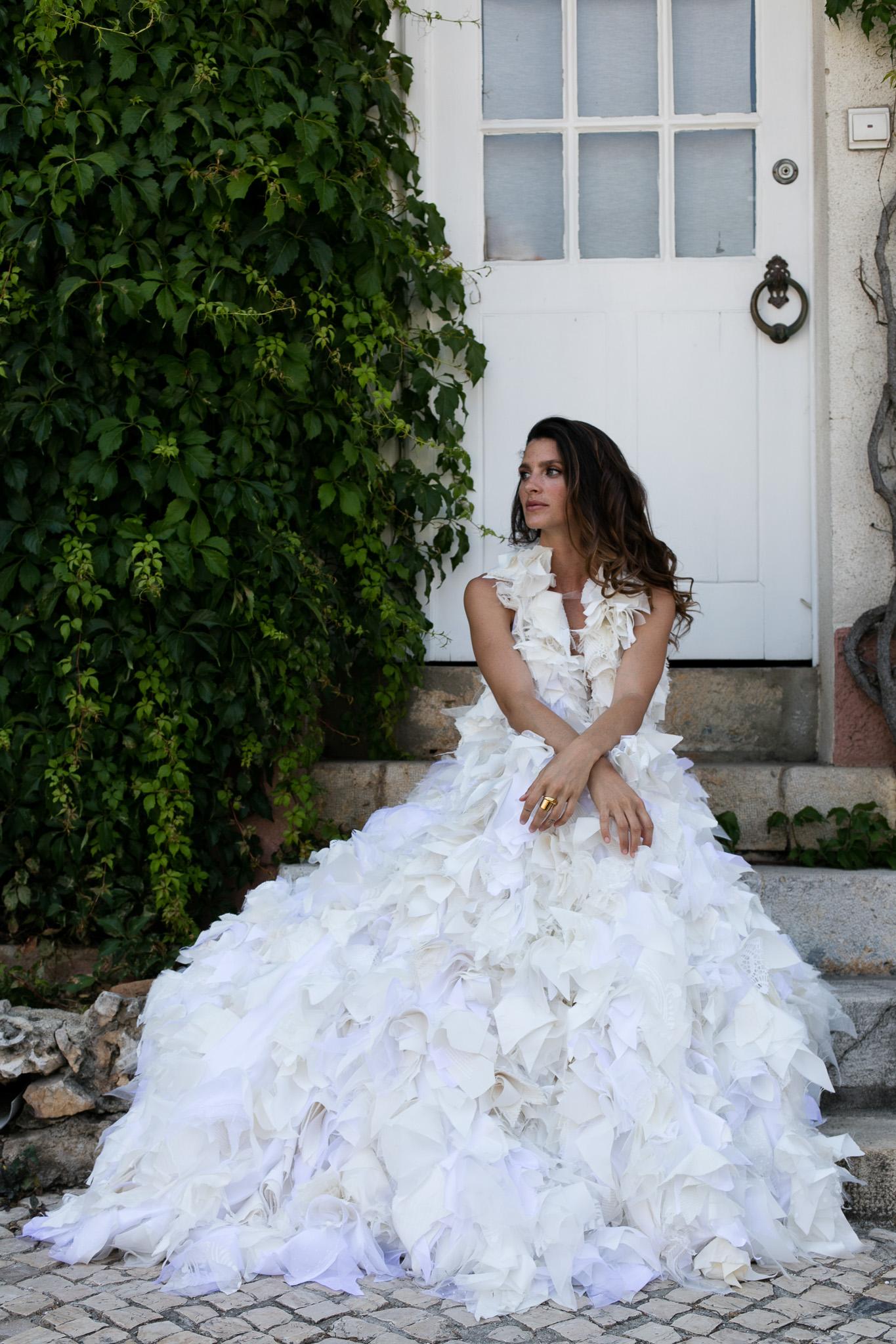 Noivas Reais e Inspiração VESTIDO DE NOIVA RITA ALVARES PEREIRA 00827